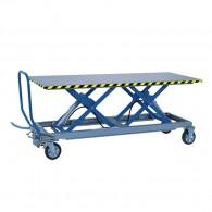 Hubtischwagen für besonders lange Lasten HF 2 L