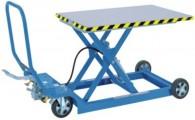 Hubtischwagen in besonders flacher Ausführung HF 2 T