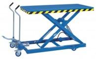 Hubtischwagen mit ergonomisch angebrachten Schiebegriffen HF ML