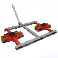 Twistlock-Schwerlastfahrwerk (lenkbar)