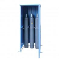 Gasflaschenschrank für die Außenaufstellung, für 6, 8, 12, 16, 24 oder 32 Stück Gasflaschen ø 220mm