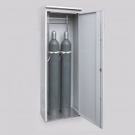 TRG-Zelle, Bauhöhe 2150mm, für bis zu 2 Stück, 3 Stück oder 4 Stück 50l-Druckgasflaschen