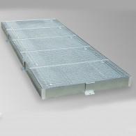 Sicherheitsbodenelemente, Bauhöhe 123mm, 20l bis 210l - je nach Variante