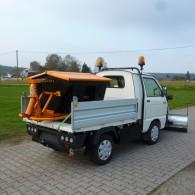 Streugerät für Pritschenfahrzeuge
