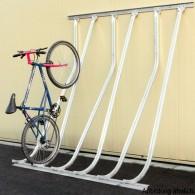 Fahrrad-Kufenparker für Wandbefestigung