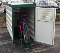 Fahrrad-Abstellbox, abschließbar