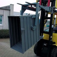 Traverse für Stapelkippcontainer