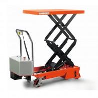Doppelscheren-Hubtischwagen mit Elektrohub