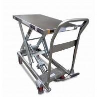Edelstahl Hubtischwagen 250kg