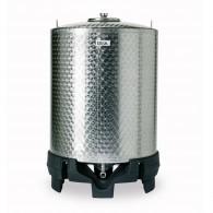 Edelstahl- Lagerbehälter für Wein und andere Getränke