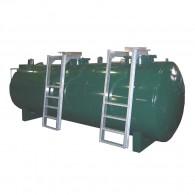 2-Komponenten Tankanlage, doppelwandig