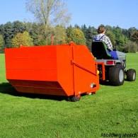 Rasenkehrmaschine mit Dreipunktanbau