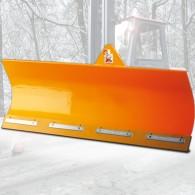 Schneeschild mit Federklappsegment und hydr. Seitenverstellung