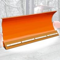 Schneeschild mit Federklappsegmenten und hydr. Seitenverstellung