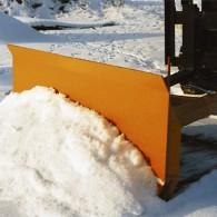 Schneeschild mit Gummileiste