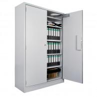 Leichter Brandschutz-Dokumentenschrank PRIODOC30, LFS30P, 2-flügelig