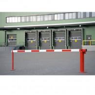 Systemschranke mit Gasdruckfeder