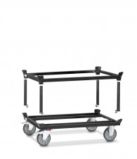 Fetra Aufsetzrahmen für Paletten-Fahrgestell, Grey Edition
