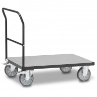 Fetra Transportwagen mit festem Schiebebügel, Grey Edition