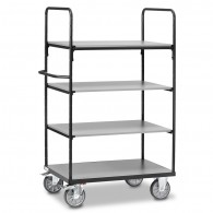 Fetra Etagenwagen mit vier Ebenen, Grey Edition