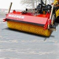 Anbaukehrmaschine für Schnee