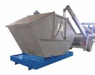 Containerwanne aus Stahl 880l, 1078l oder 1276l
