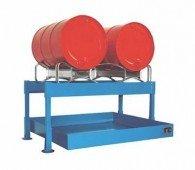 Abfüllstation für 2 Stück oder 4 Stück 200l-Fässer