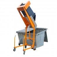 Mülltonnen-Kippstation für 120ltr. und 240ltr.Mülltonnen