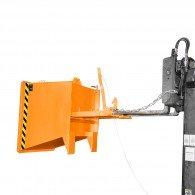 Späne-Kippbehälter Typ SGU-RZ für Routenzug-Fahrgestelle