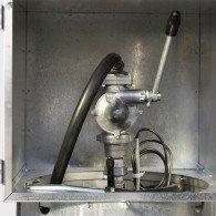 Handpumpe für ein- und doppelwandige, mobile Diesel- Tankanlagen, DT-Mobil