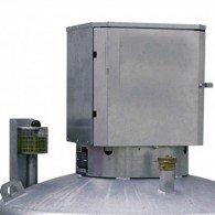 abschließbarer Pumpenschrank für DT-Mobil - mobile Diesel-Tankanlage
