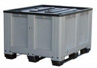 Deckel für Logistikbox/ Altbatteriebox aus PE