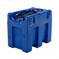 Mobile Tankanlage für AdBlue®, Blue-Mobil Easy 600l, mit Elektropumpe, Behälter mit Kranösen