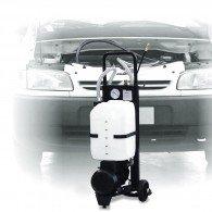 Mobiles Öl- Absauggerät, elektrisch, mit Kreiselpumpe