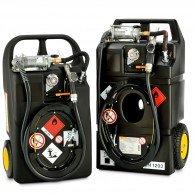Mobiler Kraftstofftrolley Ex0 für Benzin und Aspen 60l