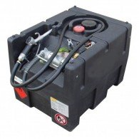 Mobile Benzin Tankanlage 190l, KS-Mobil Easy, mit Hand- oder Elektropumpe 12V oder 230V, mit oder ohne Deckel