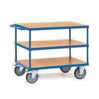Tischwagen mit drei Ebenen, Tragkraft 500/600kg