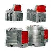 FuelMaster®-Diesel-Tankanlage aus PE, 1200l, 2500l, 5000l oder 9000l, doppelwandig, mit Zählwerk, zur Innen- oder Außenaufstellung