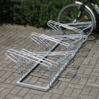 Fahrradreihenparker doppelseitig