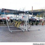 Fahrradunterstand doppelseitig