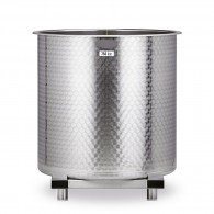 Edelstahlbehälter, Fassungsvermögen 380-1050 Liter