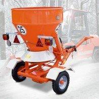 Streuwagen-Anhänger mit Radantrieb