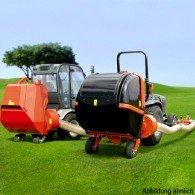 Gras- und Laubsauger mit 600 oder 850 Liter Falle