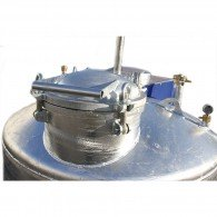 Reinigungsdom II, ø400mm,  für Behälter mit elh-Flüssigkeiten
