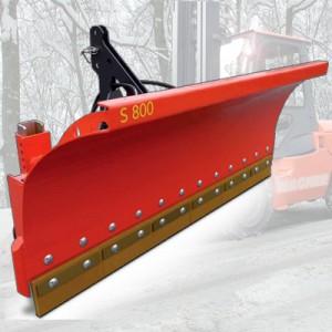 00300003 - Schneeschild mit Federklappsegmenten