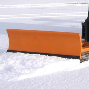 00600006 - Schneeschild mit Gummischürfleiste