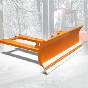 00600016 - Schneeschild mit Vulkollanschürfleiste