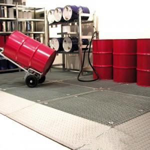 00600053 - Bodenschutzwanne aus Stahl 79l, Höhe 78mm