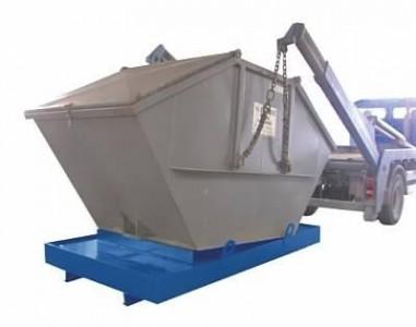 00600057 - Containerwanne aus Stahl 880l