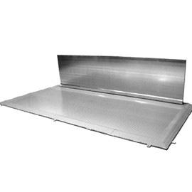 00600071 - Diesel-Abfüllplatz aus Stahl 166l - mit Spritzschutzwand